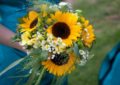 janets sunflower bouquet